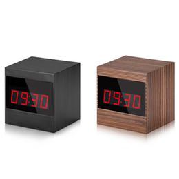 32GB 1920 * 1080 P HD reloj despertador cámara de visión nocturna DVR reloj digital Mini cámara con control remoto cámara activada por movimiento Mini DV desde fabricantes