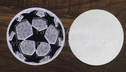 Wholesale Football Accessories - champions league ball patch football Print patches badges,Soccer Hot stamping Patch Badges