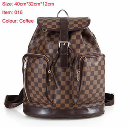 Wholesale girls tweed dress - The most popular Hot Sell Classic Fashion bags Black women men Backpack Style Bags Duffel Bags Unisex Shoulder Handbags wallets purse tags