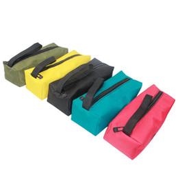 Argentina Urijk Mini Portable Oxford Tool Bag Herramientas de hardware a prueba de agua Componentes Bolsillos de almacenamiento de mano Destornilladores de mano supplier component package Suministro