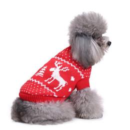 roupa do cão para fêmeas frete grátis Desconto Cão de natal Camisola Comfotable pet Sweater suor colorized roupas de alta qualidade Para Cão Pequeno Outfitt suprimentos