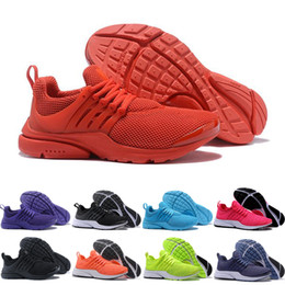 Wholesale Size 12 Men - 2018 Prestos 5 Running Shoes Men Women Presto Ultra BR QS Yellow Pink Oreo Outdoor Fashion Jogging Sneakers Shoes Size US 5.5-12