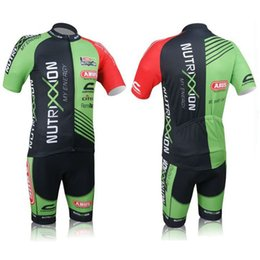 Wholesale Cool Cycling Jerseys Men - 2018 Hot Sale Nutrixxion Cycling Jerseys Set Short Sleeve With Cool Max Padded Trouseres Men Summer Road Bicycle Clothing XS-4XL
