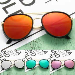 Wholesale glasses accessories for kids - New Kids Sunglasses Fashion Accessories Boy and Girls Eyegalsses Youth Glasses Frame Clear Lenses For Children's Glasses 6 Colors (SJ804)
