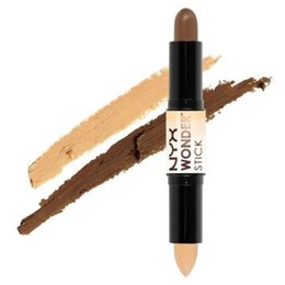 Wholesale universal spot light - (1pc lot) New 4 COLORS PROFESSIONAL CONCEALER NYX Wonder stick highlights and contours shade stick Light Medium Deep Universal NYX concealer