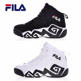 Wholesale red filing - 2018 Original Fila Classic Jamal Mashburn MB1 S Women men FILE special section sports sneaker running shoes F1XKW1202 increased shoes 36-44