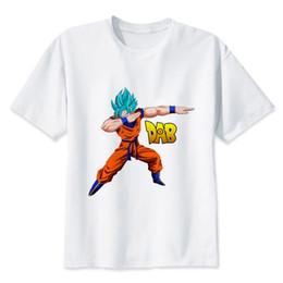995ccafc8dfaa2 Dragon Ball Super T Shirt Goku Kostüm Männer Tshirt Anime männlichen Dragonball  Super Z Beerus blauen T-Shirt Kleidung Top Tees