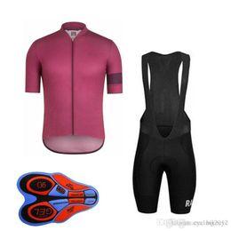2019 laranja ciclismo jersey mulheres Equipe RAPHA Ciclismo Mangas Curtas jersey (bib) shorts Colete Sem Mangas define 2018 Nova chegada 9D gel pad Atacado Top Quality F0802