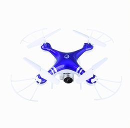Wholesale uav helicopter camera - 2.4G Drones With Camera HD FPV WIFI Quadrocopter UAV Remote Control Helicopter Toy Aircraft Photography vs xs809hw 8807W