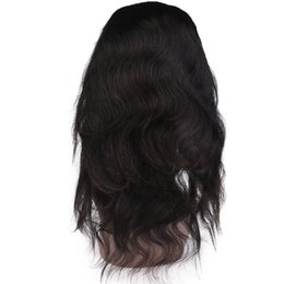 Wholesale hair extensions full lace closure - 360 Full Lace frontal Closure 100% Unprocessed Brazilian Peruvian MalaysianPeruvian Indian Deep Wave Human Hair Extensions