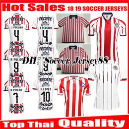 New 2018 2019 MEXICO Club Classic Chivas de Guadalajara Home Away Soccer  Jersey 18 19 A.PULIDO Camiseta de Futbol jerseys Football Shirts f7036fe4c
