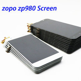 Wholesale Zopo Touch - ZOPO ZP980 LCD Screen New Original 1920X1080 LCD Display+Touch Panel Replacement For ZOPO ZP980
