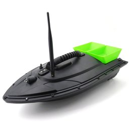 Wholesale radio control fish - Flytec Fishing Tool Smart RC Bait Boat Toy Bait Boat Toy Digital Automatic Frequency Modulation Remote Radio Control Device Fish Toy