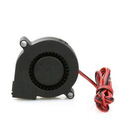 Soplador de computadora online-3/6 Pcs Silent DC 24V 5015 Cooling Blower Extractor Turbo Fan Brushless Cooler para impresora 3D Computadora XXM8
