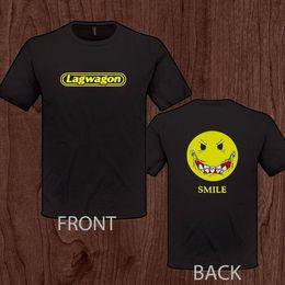 Cape noire en Ligne-LAGWAGON Joey Cape groupe de rock punk T-Shirt Loose Black Men T-shirt Homme Tees Summer O-Neck Hipster Tops top tee