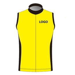 Wholesale Cycling Jersey Customize - Custom Cycling Sleeveless Jersey You Can Choose Any size Any color Any logos Accept Customized Bike Clothing 2018 DIY Your Own Bicycle Wear