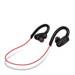 2019 boîtes à musique de qualité Haute qualité Neckband Bluetooth 4.0 casque stéréo double canal étanche sweatproof musique casque de sport avec la boîte de détail boîtes à musique de qualité pas cher