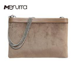 Wholesale Beige Envelope Clutch - Fur Women Clutch Bag Purse Handbag Designer Handbags High Quality PU Leather Crossbody Bags For Women Chain Suede