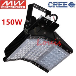 Controlador de chip led online-100W 150W 200W 300W 500W Led Reflectores IP65 Ajustable LED Túnel Luz AC90-277V CREE Chip 3030 Meanwell Driver Envío gratis