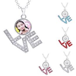 Canada bouton colliers pendentifs pour sublimation de colorant amour zircon collier pendentif pour femmes impression chaude tranfer consommable 4 couleurs Offre