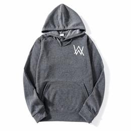 indossare i vestiti Sconti New Fashion 2018 Alan Walker Faded Felpa con cappuccio Hip Hop DJ Felpe con cappuccio Unisex Taglie forti Abbigliamento di marca Tuta M1 di alta qualità