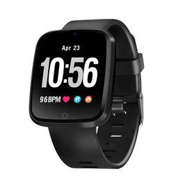 Wholesale korean model male - V6 color smart wristband monitor heart rate blood pressure oxygen sports model IP67 waterproof Bluetooth wristband watch