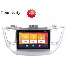 Android 8.1 Car DVD para Hyundai Tucson / IX35 2016 2017 GPS Radio Video Multimedia Reproductor IPS capacitivo IPS Pantalla RDS desde fabricantes