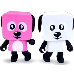 haut-parleurs multi-bluetooth Promotion 2018 Mini Bluetooth Haut-Parleur Smart Danse Chien Haut-parleurs Nouveau Multi Portable Bluetooth Haut-parleurs Haut-Parleur Creative Cadeau
