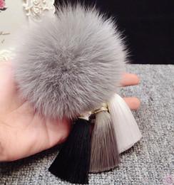 Moda Kürk Ponpon İpek Püskül Araç Anahtarlık Kabarık Gerçek Kürk Pom Anahtarlık Keys For Women Çanta Charm Kolye Aksesuarları nereden kamera kullan tedarikçiler