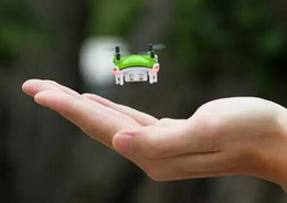 Wholesale Green Products Kids - 2016 New Product Mini Drone 2.4G 4CH Mini 3D Roll Light Remote Control Helicopter for Kids