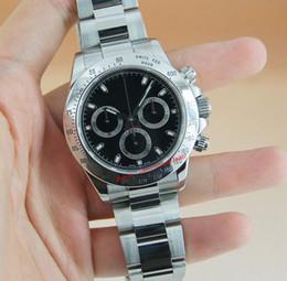 9 colori Hot luxury 40 mm no Cosmograph 116500 116503 116506 116520 116509 orologio meccanico automatico da uomo in acciaio inossidabile Confezione regalo omaggio da