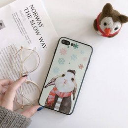 Wholesale nice phone cases - For iPhone 6 7 8plus Soft TPU Cover Carton Pattern All-inclusive Protective Cover Fully Protect Your Phone and Nice look