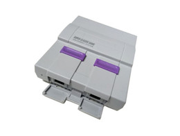 Wholesale Pal Tv - Updated Super NES Game Consoles SNES Classic Games Mini TV Video Handheld Retro Player NES For PAL NTSC OTH002 Sega With Retail Box