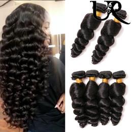 Büyük Satış 8A Brezilyalı Gevşek Dalga% 100% İşlenmemiş İnsan Virgin Saç Uzantıları 3 Demetleri Çift Atkı 8-28 inç Doğal Renk Boyalı Olabilir supplier dye brazilian hair weft dyed nereden boyalı brazilian saç atkı boyalı tedarikçiler