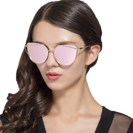 Wholesale Vogue Brand Glasses - 8 Colors Cat Eye Sunglasses Personality Sunglasses for Unisex Luxury Brand Vogue Glasses European and American Eyewear X088