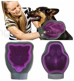 Wholesale product families - Pet Cleaning Supply Dog Brush Dual-Use Pet Bath Glove Cleaning Brush Cat Face Brush Family Pet Essential Cleaning Tool DDA577