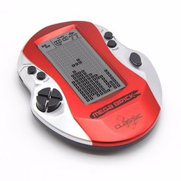 Rétro Classic Tetris Machine Jeux de poche Joueurs Jeux électroniques enfance Jouets Console de jeu LED avec construit en 26 jeux ? partir de fabricateur