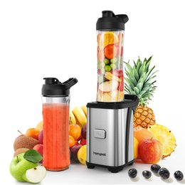 Wholesale Blender Smoothies - Homgeekeu Mini Fruit Vegetable Juice Extractor Personal Smoothie Blender Detachable Food Processor 2 Bpa -Free Travel Sport Cup