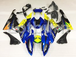 Wholesale Bmw Bodywork - Blue Moto Fairing Kit Fit For BMW S1000RR S1000 2015 2016 15 16 Fairings Custom Made Motorcycle Bodywork Injection Molding A459