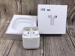 I10 TWS Sans fil BT Écouteurs Écouteurs Antibruit Casque Stéréo Sport avec Micro Charge Cas PK I7S I8X I9S pour iPhone Samsung ? partir de fabricateur