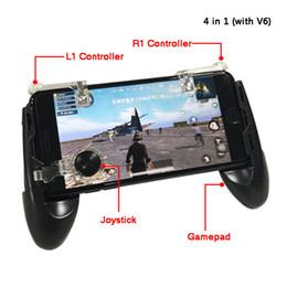 nota del kit de reparación Rebajas Teléfono 4 en 1 Juego móvil de JUEGOS Juego de joystick con L1 R1 Disparador Botón disparador Objetivo Llave + Touch Pad Controlador de joystick