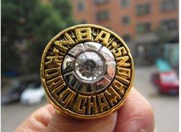 Wholesale Boston Ring - 1974 Boston Basketball World Championship ring Fan Brithday Gift Wholesale Drop Shipping High Quality