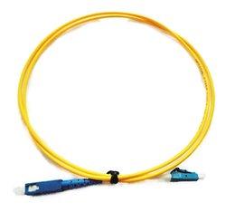 Canada SC UPC À LC UPC SM Cordon De Raccord Fibre Optique 1 Mètre / 2 Mètres / 3 Mètres / 5 Mètres Simplex 3.0mm Offre