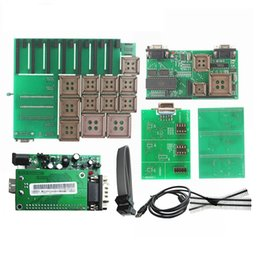 Wholesale Upa Usb Programmer - Newest UPA USB V1.3 Serial Programmer Green Adapter Full Sets Auto ECU Chip Tuning UUPROG EEPROM V1.3.0.14 R2 OBD2 ECU Adapters