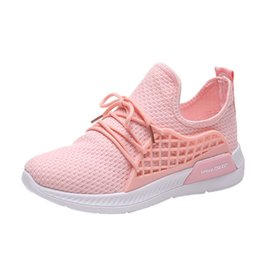 black sports shoes for girls UK - Shoes Women Sneakers Sport Women Stretch  Fabric Solid Color 742f73d66c4ed