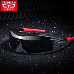 Профессиональные солнцезащитные очки онлайн- VISION Professional Goggle Mens Sunglasses Polaroid Lens Sports Sun Glasses for men UV400 Sunblock Polarized Shades Male