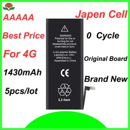 Wholesale cycles battery - Isun Replacement Phone Battery For 4G 4S 5G 5S 5C 6G 6S 6P 6Plus Real Capacity Brand New 0 Cycle