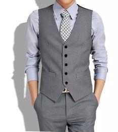 Корейские мужские костюмы онлайн-free shiping 2018 new mens suits vest male casual slim vest pant set (vest+pant) plus size XXXL Korean men's casual sui