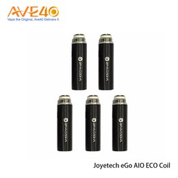 Wholesale Ego Replacement - JoyetechJoyetech Ego Aio Eco Coil Head BFHN 0.5ohm Core Support 6-8w eGo Aio Eco Replacement 100% Original