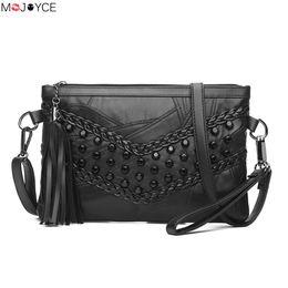 Wholesale Braided Handbag - Women Messenger Bags Braid Weave Sheepskin Women Bags Leather Tassel Handbags Shoulder Crossbody bolsa feminina HOT